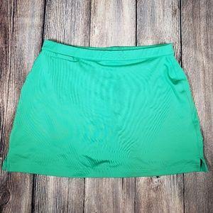 Adidas Climacool green golf athletic skort size 12